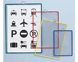 Tarifold Pochette transparente à accrocher - pour format A3