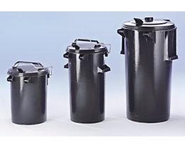 System-Mülltonne aus Kunststoff - Volumen 110 l