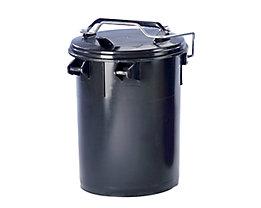 System-Mülltonne aus Kunststoff - Volumen 35 l - anthrazit, ab 5 Stk