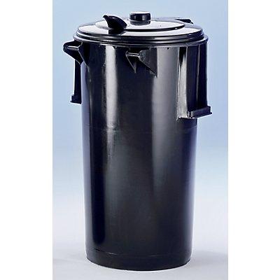 Poubelle en plastique - capacité 110 l