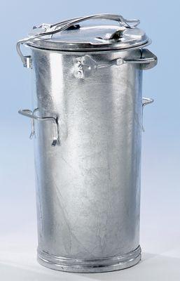 System-Mülltonne aus Stahlblech - Volumen 50 l