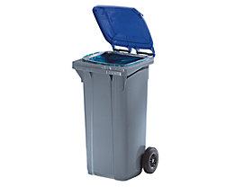 Kunststoff-Großmülltonne nach DIN EN 840 - Volumen 120 l, fehgrau