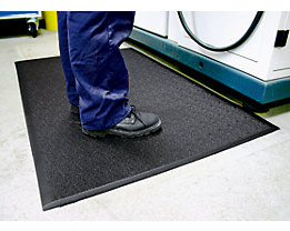 Tapis anti-fatigue - PVC à structure granuleuse, hauteur 9 mm