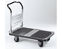 Plattformwagen PREMIUM 300, klappbar, Tragfähigkeit 300 kg - Ladefläche LxB 900 x 600 mm