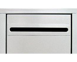 Wolf Einwurfschlitz - für Stahlschrank - für Abteilbreite 300 mm, Mehrpreis