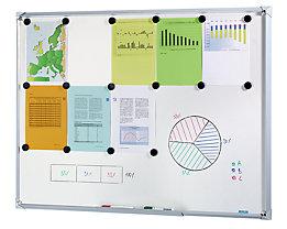 office akktiv Tableau blanc Premium à cadre design - l x h 1200 x 900 mm