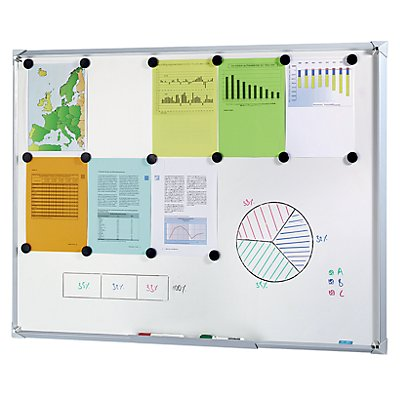 office akktiv Premium Whiteboard mit Designrahmen - BxH 600 x 450 mm