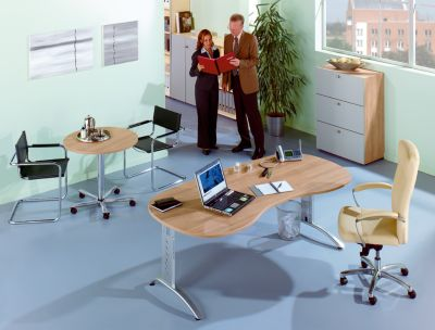 office akktiv Aktenschrank - Flügeltüren, 5 Fachböden