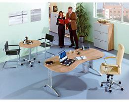 office akktiv ANNY Besprechungstisch - rund, höhenverstellbar