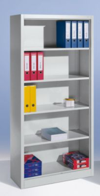 CP Büroregal, Stahl - 4 Fachböden