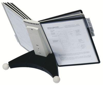 Durable Modultischständer SHERPA - zur Aufnahme von 10 Sichttafeln - Polyamid