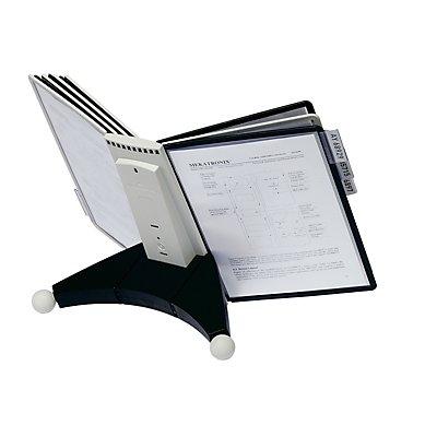 Durable Modultischständer SHERPA - Komplettset aus Halter und Sichttafeln DIN A4