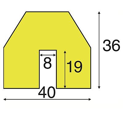 SHG Knuffi Kantenschutz - 1-m-Stück