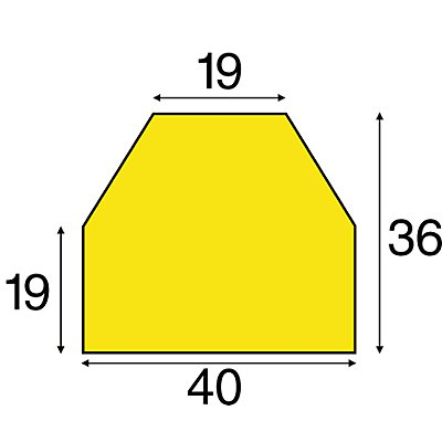 SHG Knuffi Flächenschutz in Rot / Weiß - 1 Rolle à 5 m