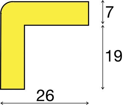 Eckenschutz in Rot / Weiß - 1 Rolle à 5 m