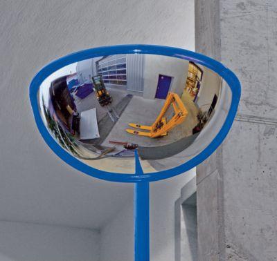 EUROKRAFT Weitwinkelspiegel - für innen und außen, 180°