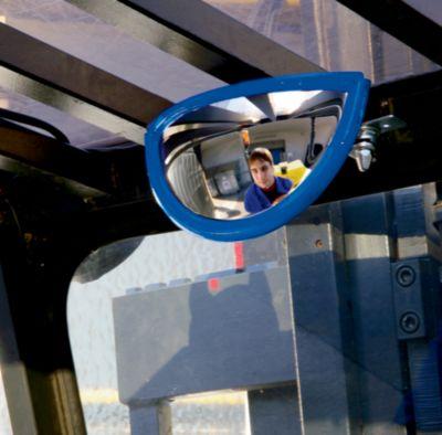 EUROKRAFT Beobachtungsspiegel - aus schlagfestem Acrylglas - BxHxT 250 x 130 x 70 mm