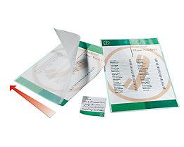 GBC Pochettes à plastifier Premium - standard, épaisseur film 75 µm