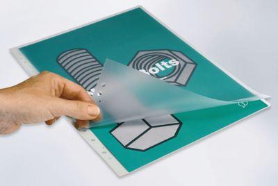 GBC Laminiertaschen, abheftbar - für DIN A4 - Folienstärke 125 µm, VE 100 Stk