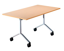 Table pliante roulante - h x l x p 720 x 1200 x 800 mm
