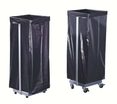 Abfallsacksammler - für 1 x 120-l-Sack, stationär - HxBxT 940 x 370 x 330 mm
