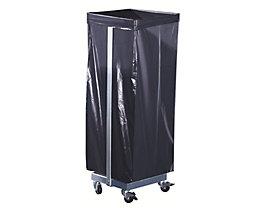 Support sacs-poubelle - pour 1 sac de 120 l, mobile