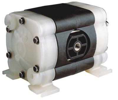 Lutz Druckluft-Doppelmembran-Pumpe - für Flüssigkeiten auf Wasserbasis, Schmierstoffe, Mineralöle