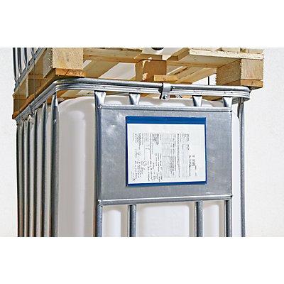 Dokumententaschen - mit Magnetstreifen, VE 50 Stk