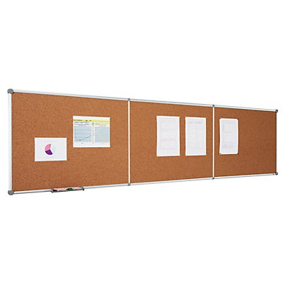 Tableau extensible - surface en liège, format horizontal
