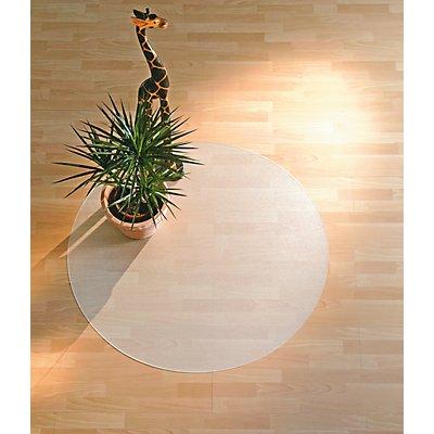 Bodenschutzmatte aus Recycling-Polycarbonat - für Teppichböden