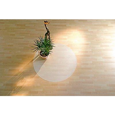 Bodenschutzmatte aus Recycling-Polycarbonat - für harte Böden