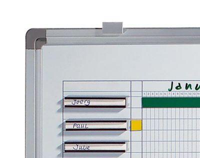 Jahresplaner - BxH 900 x 600 mm - mit Halbjahres- und 365-Tage-Einteilung