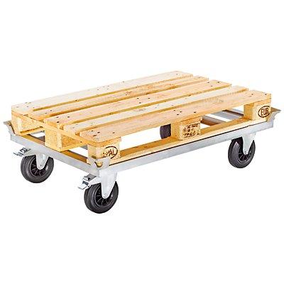 Fahrgestell KOMFORT - Tragfähigkeit 500 kg - Länge 1250 mm