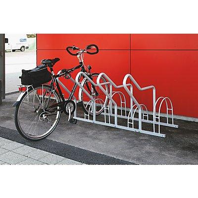 Fahrradständer mit Anlehnbügel - 4 Einstellplätze