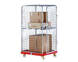 Rollbehälter SAFE - HxBxT 1550 x 720 x 810 mm