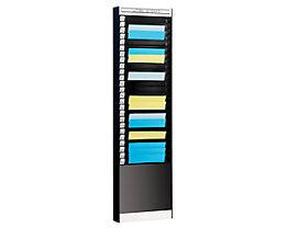 Dokumentensortiertafel - 1 x 25 Fächer, DIN A4, Dokumentenlage vertikal