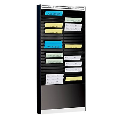 Tableau de tri - 1 x 25 casiers A4, position horizontale des documents