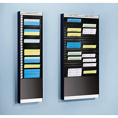 Tableau de tri - 1 x 18 casiers A5, position horizontale des documents