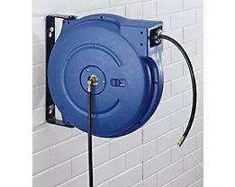 Schlauchaufroller für Luft und Wasser - Nennweite DN 12, G 1/2″