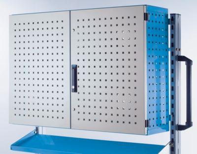 EUROKRAFT Blechschrank, abschließbar - Tragfähigkeit 50 kg - HxBxT 700 x 990 x 270 mm