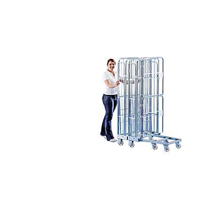 RIMO Rollbehälter - 3-seitig, nestbar - Gitterhöhe 1450 mm