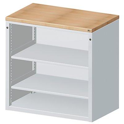 ANKE Material- und Werkzeugausgabetheke - 2 Fachböden, grau