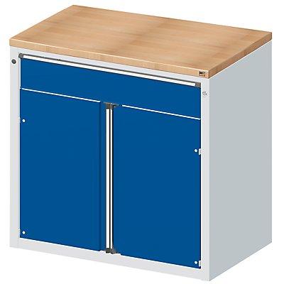 Material- und Werkzeugausgabetheke - 1 Schublade, 2 Türen, 1 Fachboden