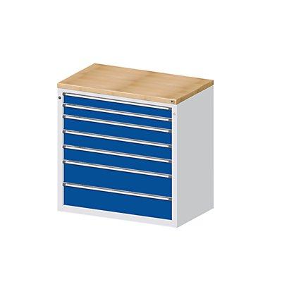 ANKE Material- und Werkzeugausgabetheke - 2 Schubladen 90 mm, 3 Schubladen 120 mm, 2 Schubladen 180 mm