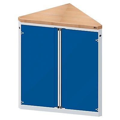 ANKE Material- und Werkzeugausgabetheke - 2 Türen, 2 Fachböden, dreieckig
