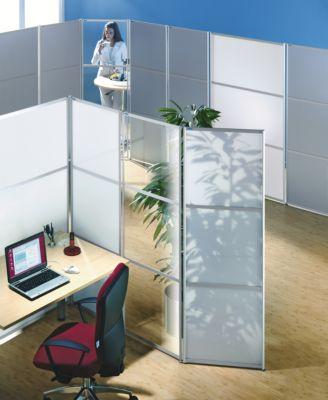 office akktiv Paravent-System - HxB 1800 x 600 mm