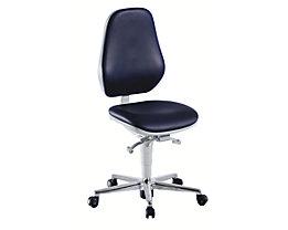 bimos Chaise d'atelier pour salles blanches - avec roulettes