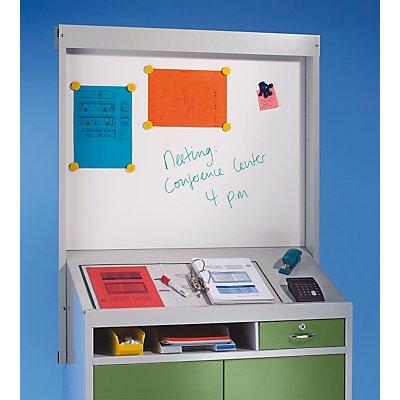 Organisations-Aufsatz - Weißwand-Tafel, magnetisch