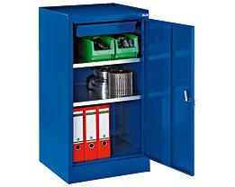 Werkzeugschrank - mit 1 Schublade, 2 Fachböden, HxBxT 1000 x 500 x 500 mm