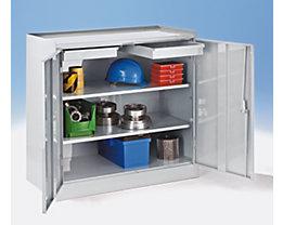 Werkzeugschrank - mit 2 Schubladen, 2 durchgehenden Fachböden